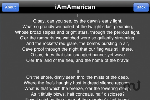 Screenshot 1 for iAmAmerican 4th of July Edition