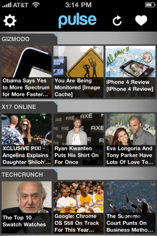 Screenshot 1 for Pulse News Mini
