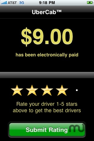 Screenshot 1 for UberCab