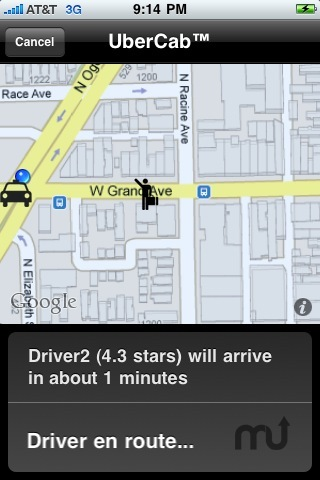 Screenshot 2 for UberCab