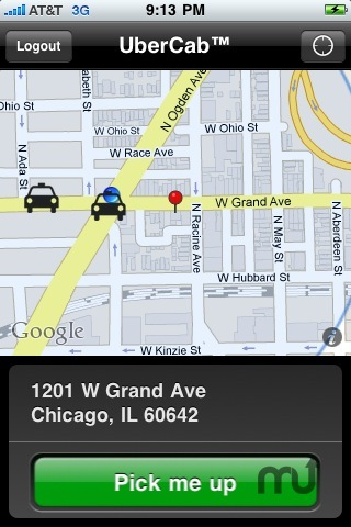 Screenshot 3 for UberCab