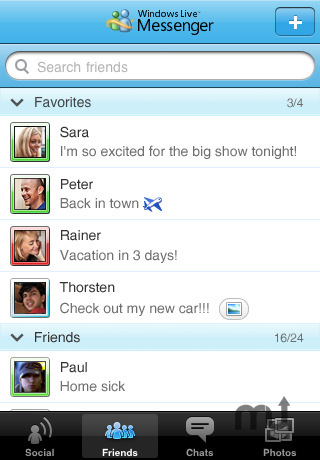 Screenshot 2 for Windows Live Messenger