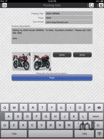 Screenshot 4 for Craigslist Pro for iPad