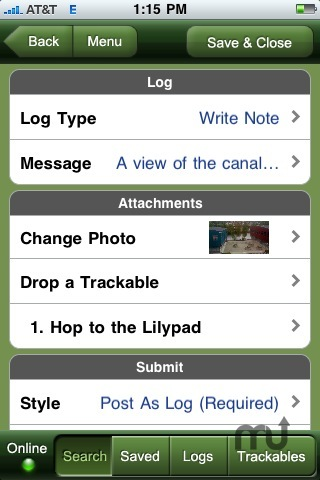 Screenshot 4 for Geocaching