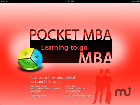 Screenshot 1 for Pocket MBA - course