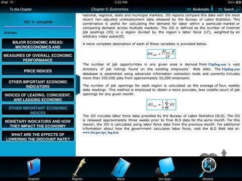 Screenshot 2 for Pocket MBA - course