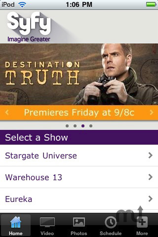 Screenshot 1 for Syfy
