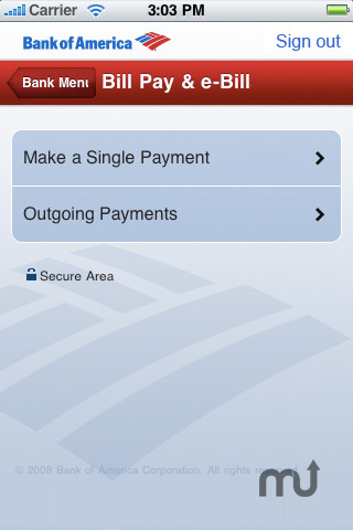 Screenshot 3 for Bank of America - Mobile Banking