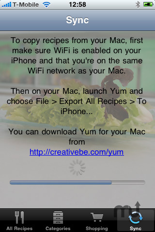 Screenshot 2 for Yum for iPhone