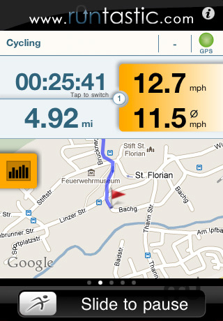 Screenshot 1 for runtastic PRO