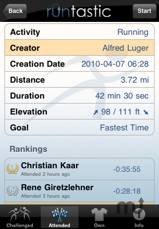 Screenshot 4 for runtastic PRO