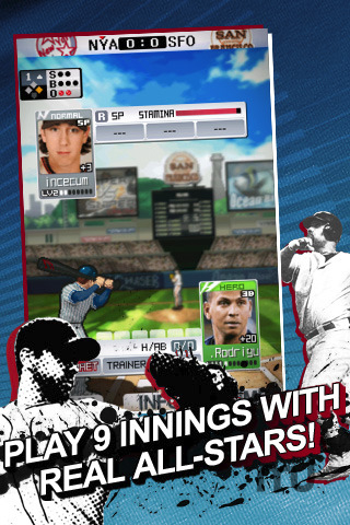 Screenshot 1 for 9 Innings: Pro Baseball 2011
