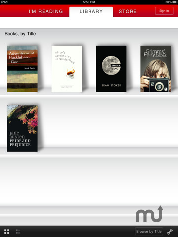Screenshot 2 for Borders eBooks