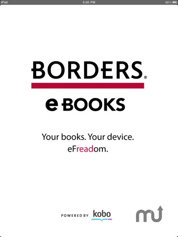 Screenshot 3 for Borders eBooks