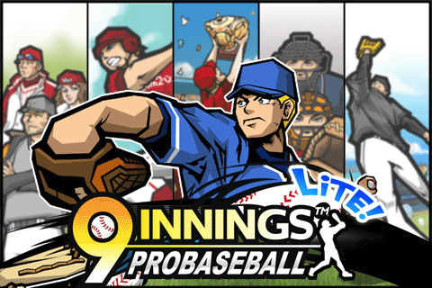 Screenshot 1 for 9 Innings: Pro Baseball Lite