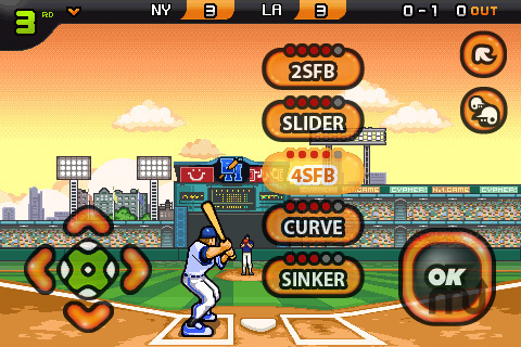 Screenshot 2 for 9 Innings: Pro Baseball Lite