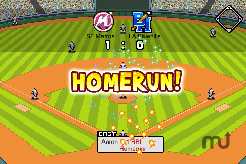 Screenshot 4 for 9 Innings: Pro Baseball Lite