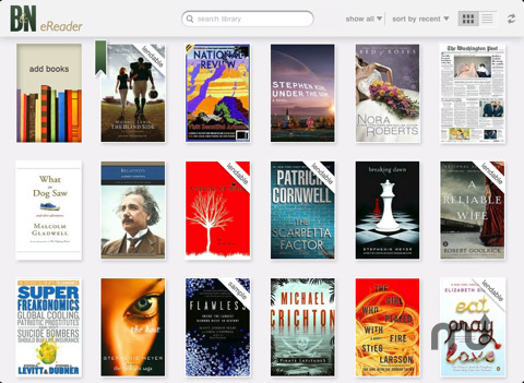 Screenshot 1 for Barnes & Noble eReader