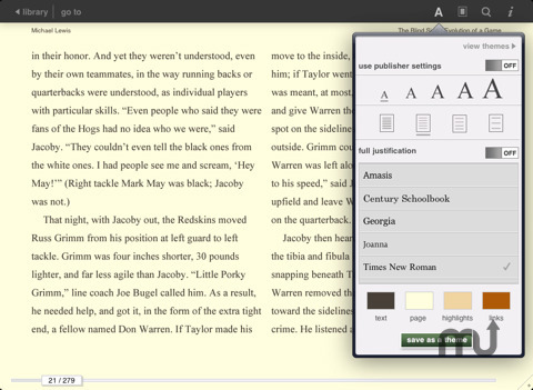 Screenshot 4 for Barnes & Noble eReader
