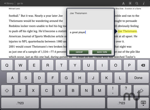 Screenshot 5 for Barnes & Noble eReader