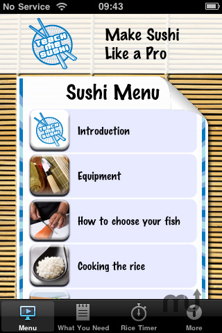 Screenshot 1 for Teach Me Sushi