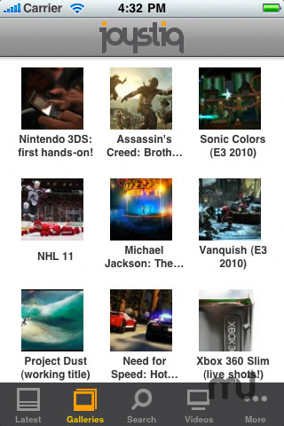 Screenshot 5 for Joystiq