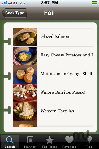 Screenshot 4 for Classic Camping Cookbook & Meal Planner