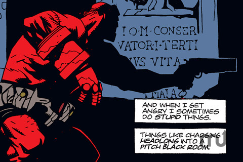 Screenshot 4 for Hellboy Volume 1: Seed of Destruction Part 1 of 4