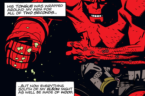 Screenshot 5 for Hellboy Volume 1: Seed of Destruction Part 1 of 4
