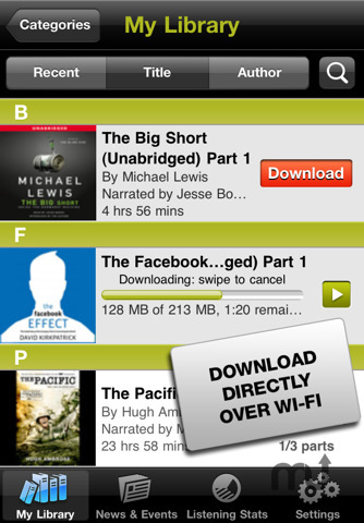 Screenshot 2 for Audible