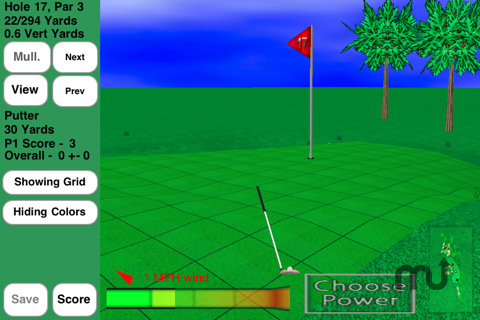 Screenshot 1 for GL Golf Deluxe