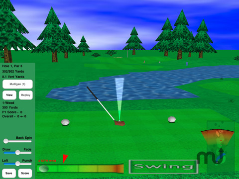 Screenshot 2 for GL Golf Deluxe
