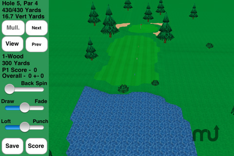 Screenshot 4 for GL Golf Deluxe