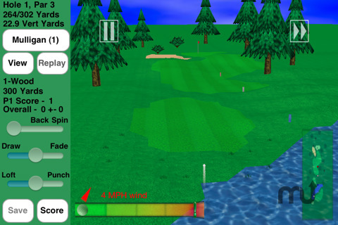 Screenshot 5 for GL Golf Deluxe