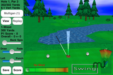 Screenshot 6 for GL Golf Deluxe