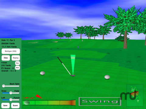 Screenshot 8 for GL Golf Deluxe