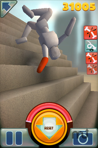 Screenshot 1 for Stair Dismount Universal