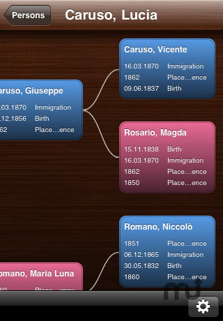Screenshot 4 for MobileFamilyTree