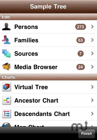 Screenshot 6 for MobileFamilyTree