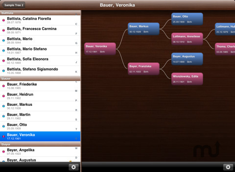 Screenshot 8 for MobileFamilyTree