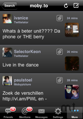 Screenshot 2 for Twittelator Free for Twitter
