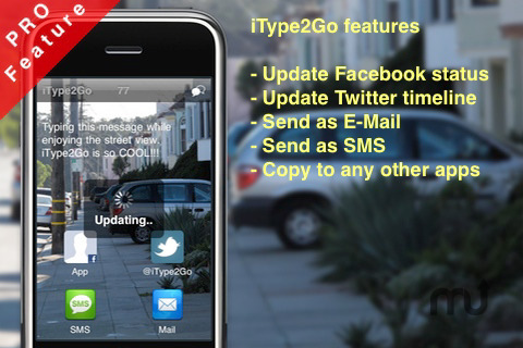Screenshot 3 for iType2Go Free