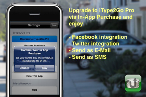 Screenshot 5 for iType2Go Free