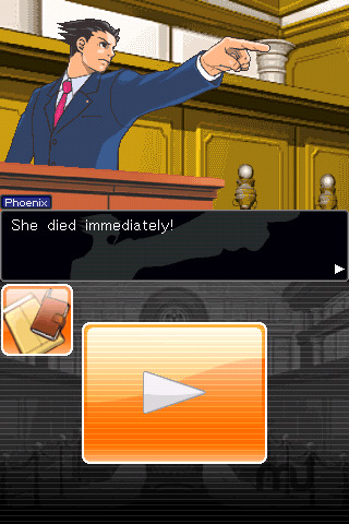 Screenshot 1 for Phoenix Wright