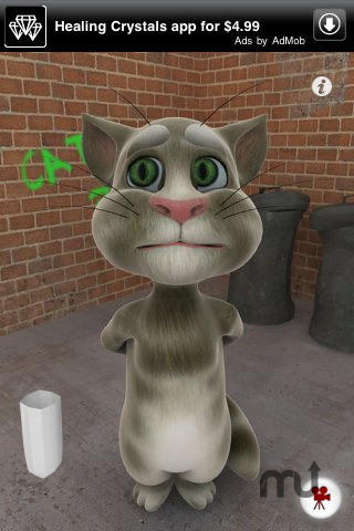 Screenshot 1 for Talking Tom Cat