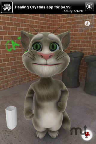 Screenshot 5 for Talking Tom Cat