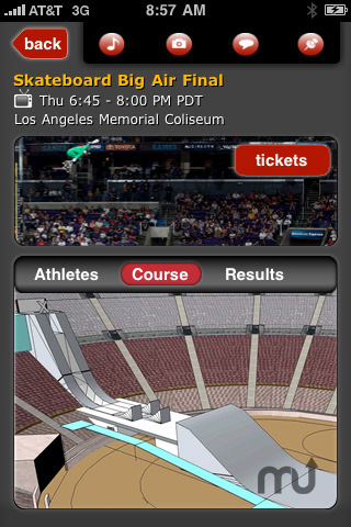 Screenshot 4 for X Games 16 Mobile App