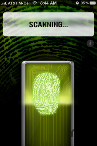 Screenshot 1 for Fingerprint Security - Pro