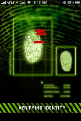 Screenshot 2 for Fingerprint Security - Pro