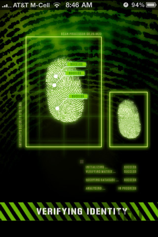Screenshot 3 for Fingerprint Security - Pro